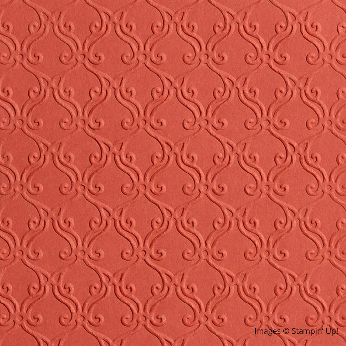 Stylish Scroll Embossing Folder