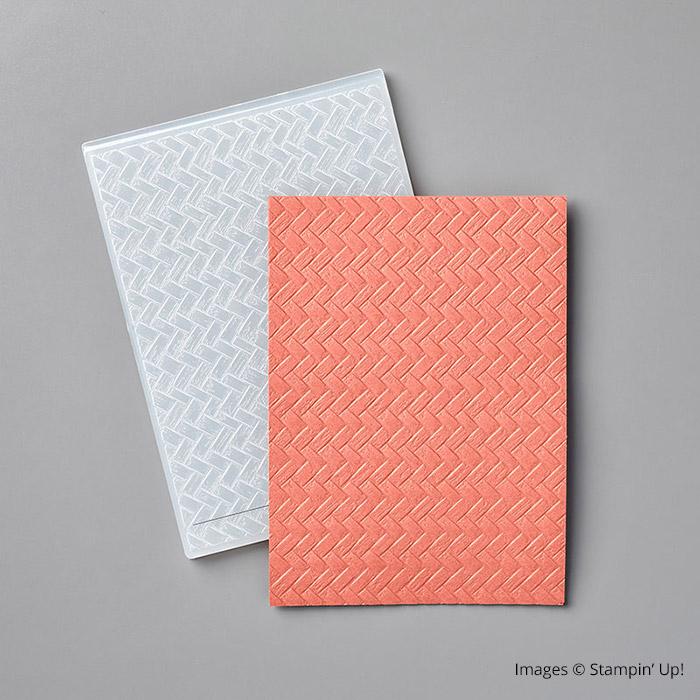 Coastal Weave 3D Embossing Folder