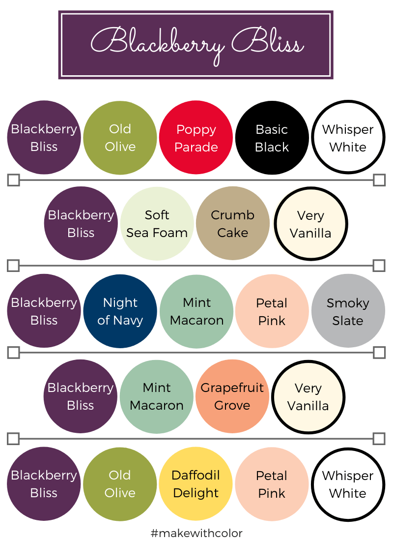 Color Combos Blackberry Bliss