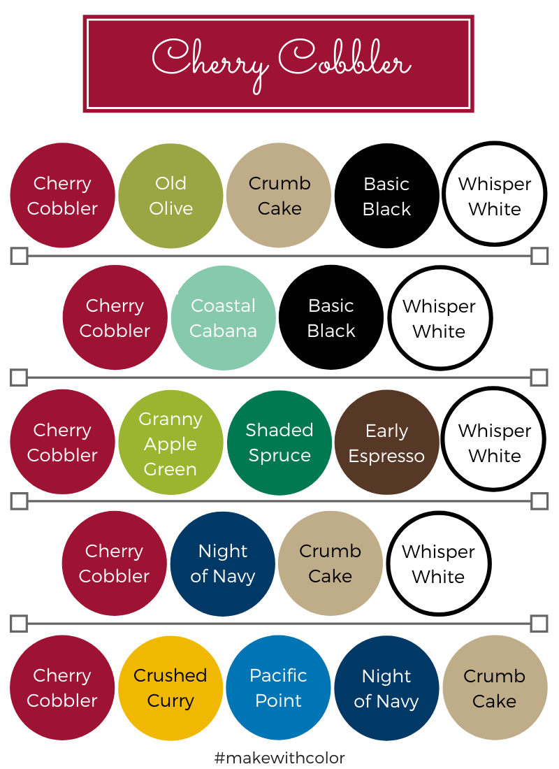 Color Combos Cherry Cobbler