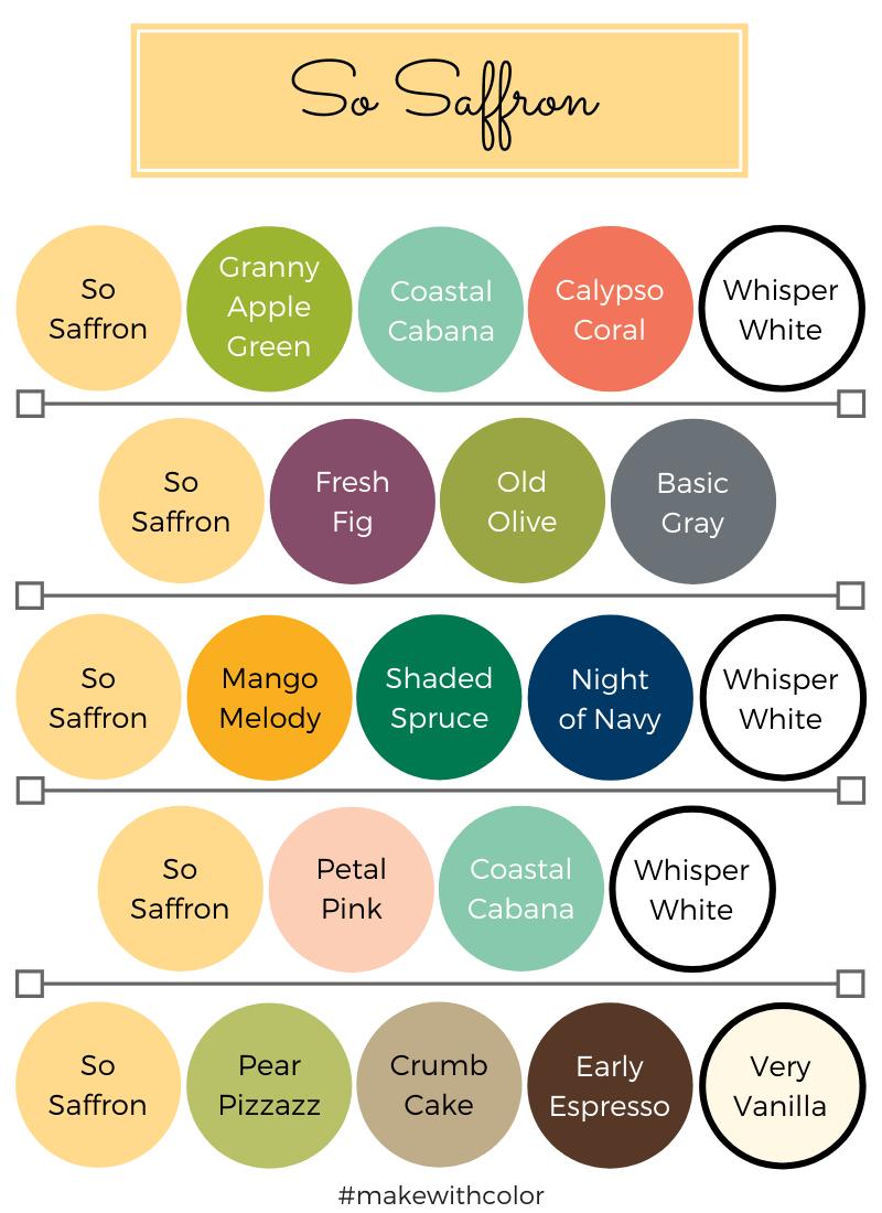 Color Combos So Saffron