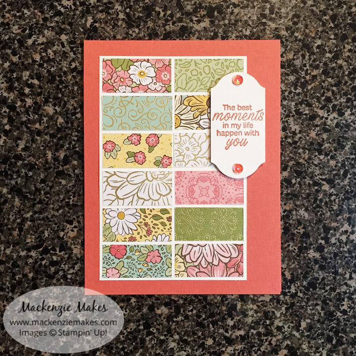Team Make and Takes – Click through to see the make and take cards from a recent team event. | #mackenziemakes #stampinup | www.mackenziemakes.com