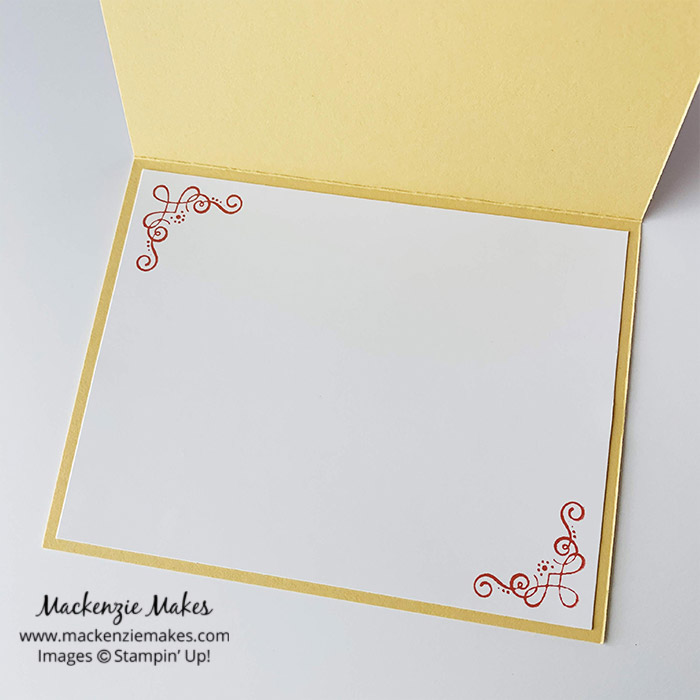 Ornate Garden Suite Thank You Card – Click through to see a beautiful card made using the Ornate Garden Suite of products from Stampin' Up! | #mackenziemakes #stampinup | www.mackenziemakes.com