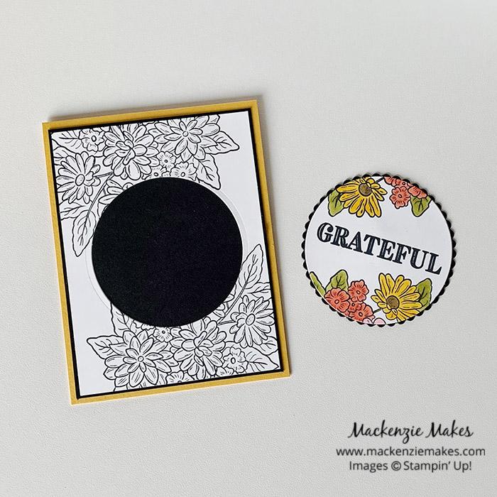 June 2020 Technique Blog Hop - Spotlighting – Click through to learn how to make a card using the spotlighting technique. | #mackenziemakes #stampinup | www.mackenziemakes.com