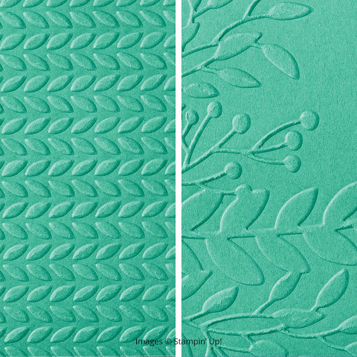 Greenery Embossing Folder1