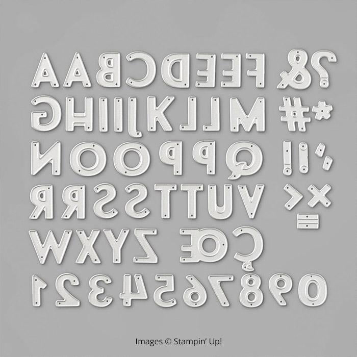 Playful Alphabet Dies1