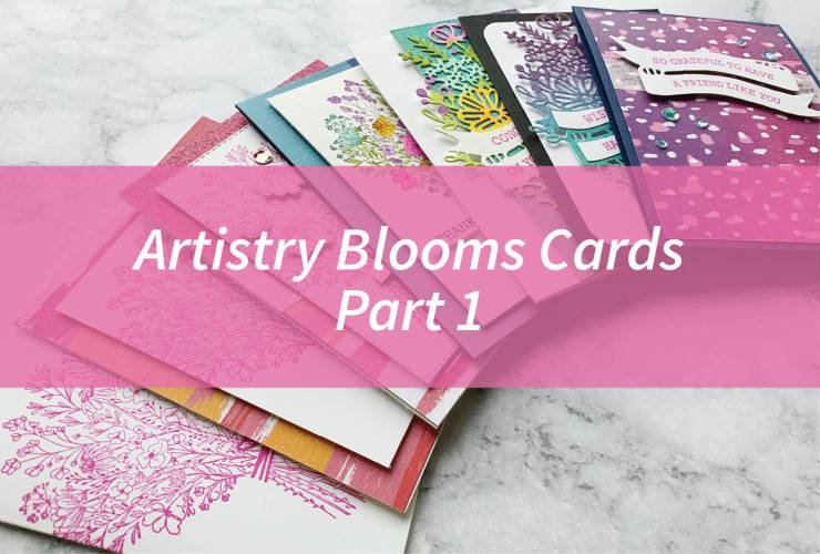 Artistry Blooms Cards Part 1 – Click through to learn how to make 3 cards using products from the Artistry Blooms Suite from Stampin' Up! | #mackenziemakes #stampinup | www.mackenziemakes.com