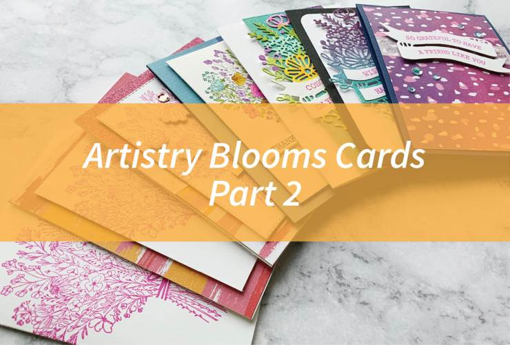 Artistry Blooms Cards Part 2 – Click through to learn how to make this watercolored card using products from the Artistry Blooms Suite from Stampin' Up! | #mackenziemakes #stampinup | www.mackenziemakes.com
