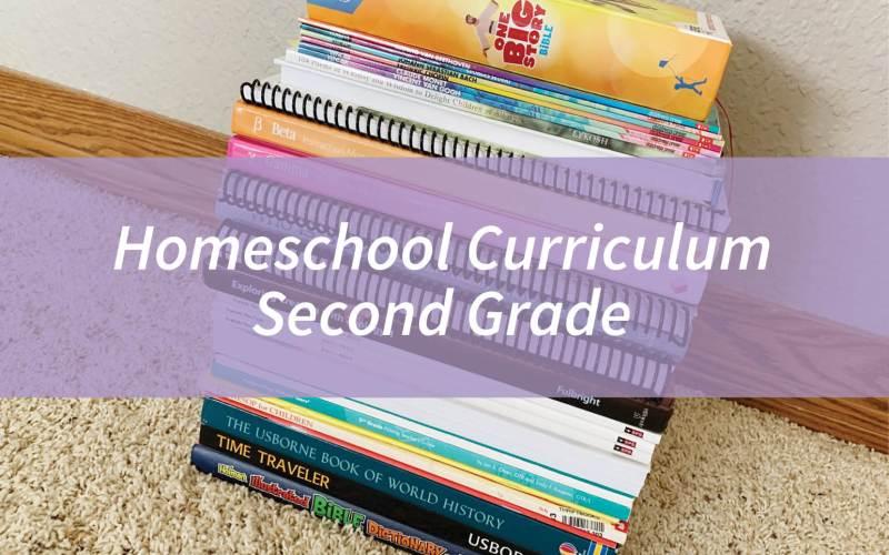 Homeschool Curriculum – Second Grade