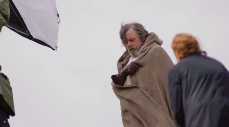 ritorno di Luke Skywalker Mark Hamill disaccordo Rian Johnson