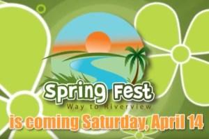 Spring Fest 2012 Vendor Promo