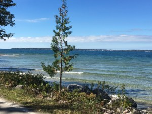 Mackinaw Road- MI bike ride