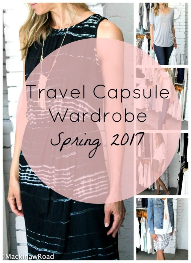 Spring Travel Capsule Wardrobe