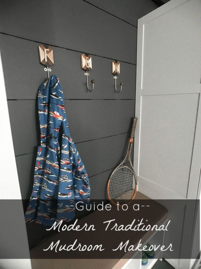 Laundry Mudroom Makeover