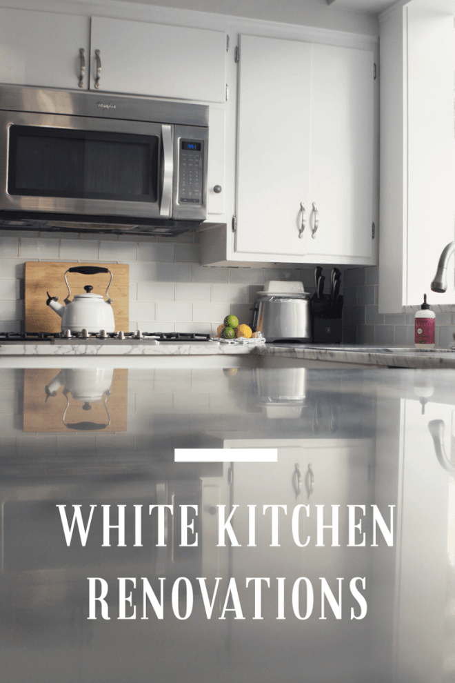 White Kitchen renovations