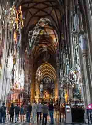 Cathdrale St Etienne Stephansdom Vienne Autriche Saint