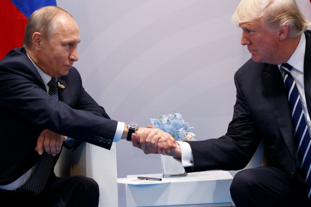 Image result for pictures of Donald Trump and Russia's President Vladimir Putin