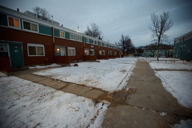 row houses in the R2W area of Winnipeg