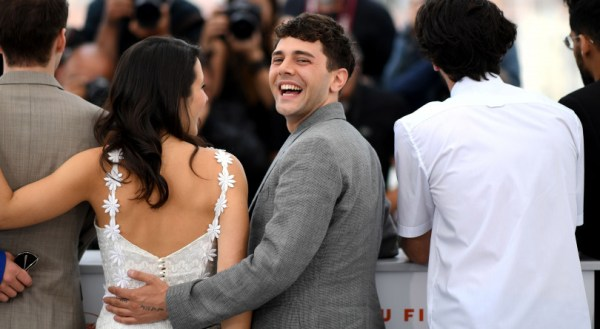 Dolan at the Cannes Film Festival on May 23, 2019. (Loic ...