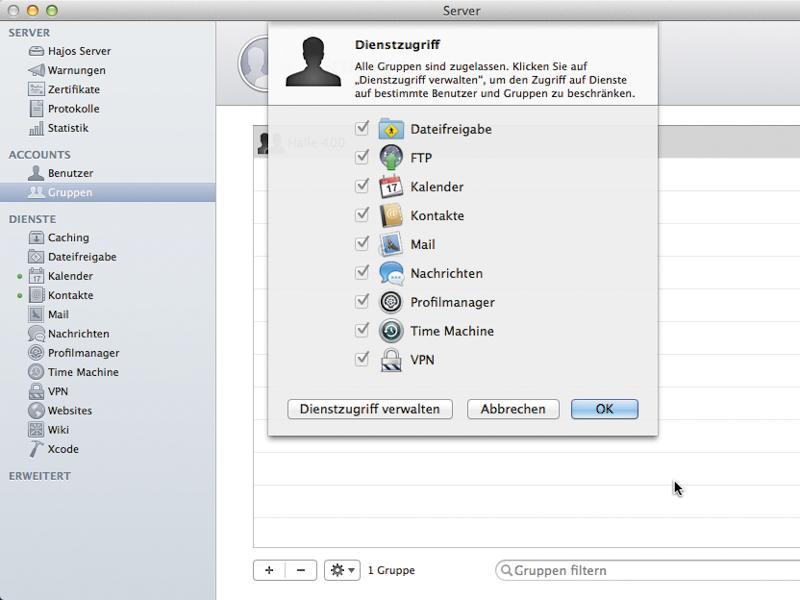 Die firma datasource stellt ihnen einen dedicated server in der schweiz bereit,. Cloud Im Eigenbau Der Eigene Mac Als Server Mac Life