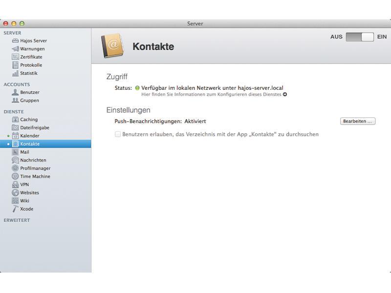 Selbst ihr iphone kann sich mit ios auf dem mac mini os x server anmelden. Cloud Im Eigenbau Der Eigene Mac Als Server Mac Life