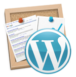 Iweb to wordpress icon