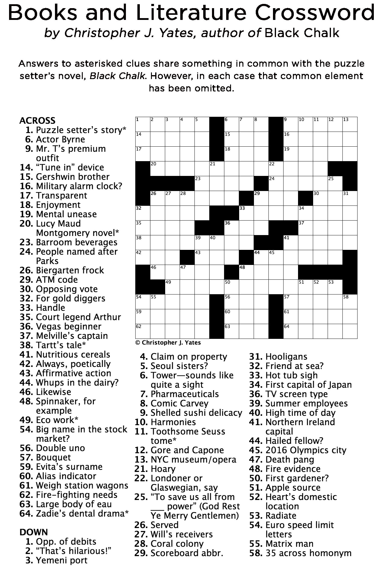Crossword Puzzle Computers Teens
