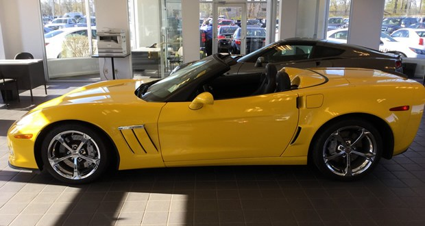 2011 Corvette Grand Sport Convertible 3LT