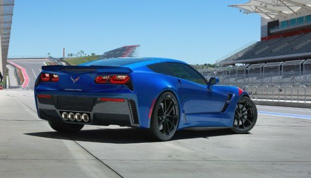 2017 Corvette Grand Sport in Admiral Blue Metallic