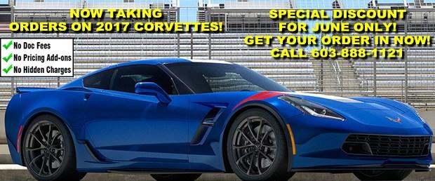 2017 Corvette Orders - June Discount