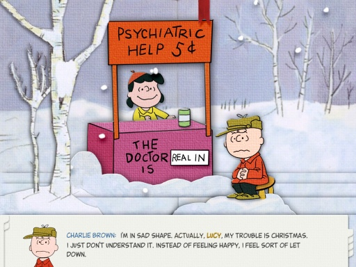 peanuts christmas special play scene - Peanuts Christmas Special