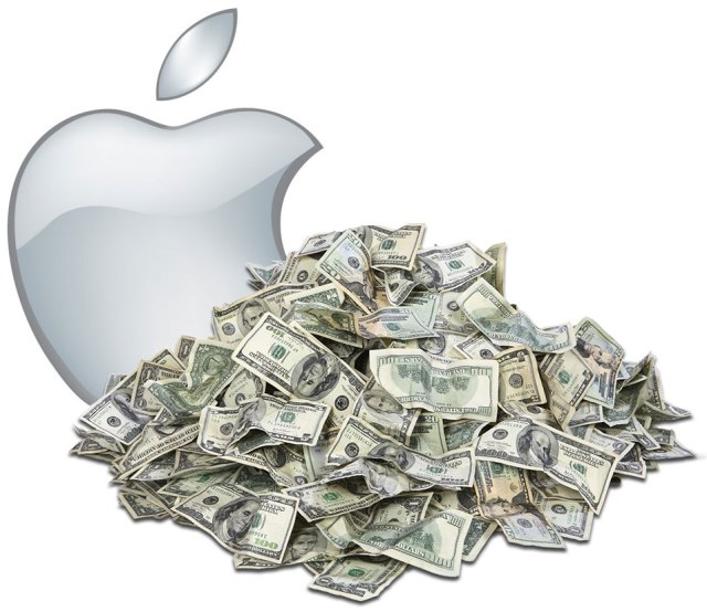 20140702apple_money_pile Wow! Apple Has US$ 194 Billion in Cash