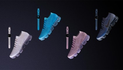 b863aee59ac Nike Unveils VaporMax Flyknit Apple Watch Bands