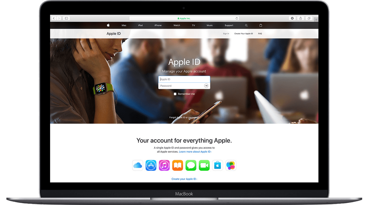 Here's How to Create an Apple ID For Your New Apple Device ...