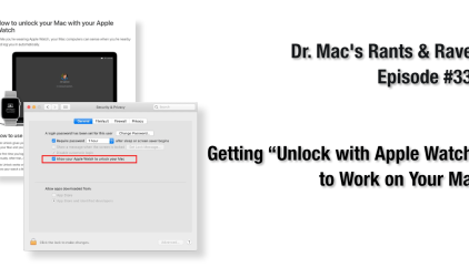 Apple Watch Stopped Unlocking Your Mac? Here's the Fix - The Mac
