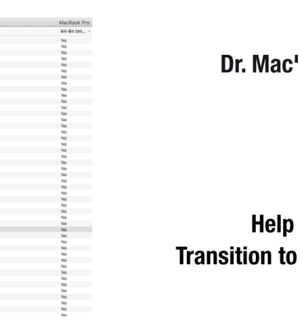 About Mojave (macOS 10 14) and 32-bit Apps - The Mac Observer