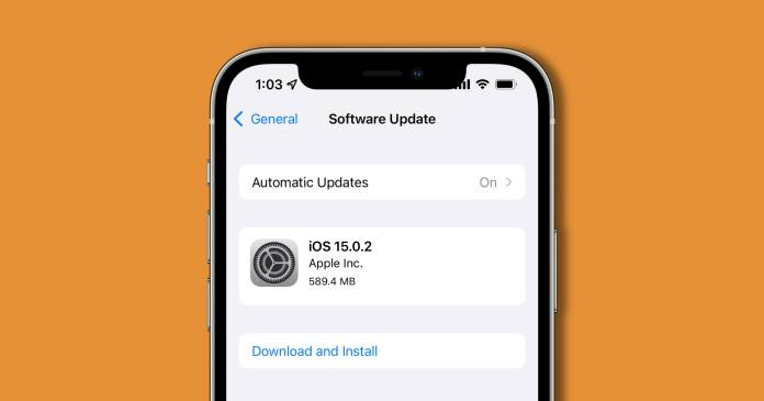 Apple Releases iOS 15.0.2 With Messages Photo Bug Fix, Security Update, and More