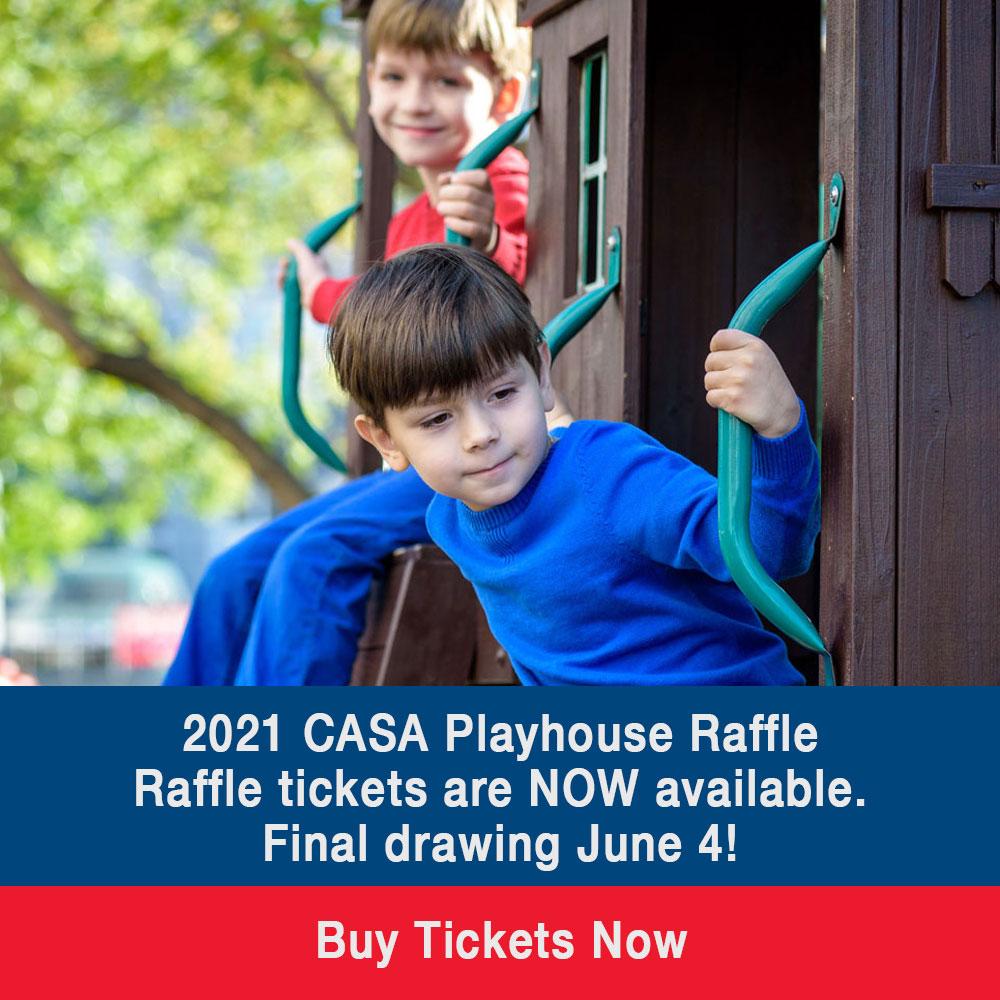 Macon County CASA 2021 Playhouse Raffle Tickets Available Now