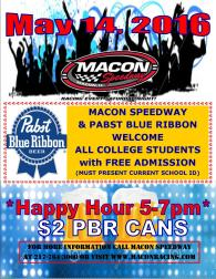 PBR-College Kids-Happy Hour 5-14-16