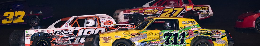 Street Stocks raced two and three wide during last year's edition of the John Osman Memorial