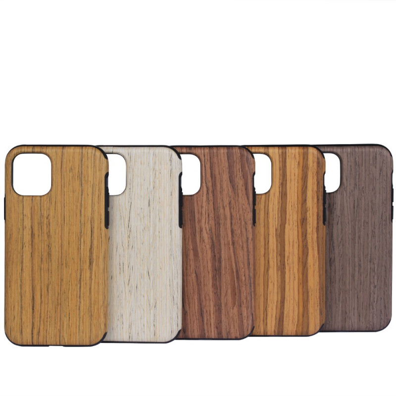 coque iphone 12 12 pro style bois