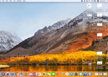 วิธีแคปภาพหน้าจอ macbook