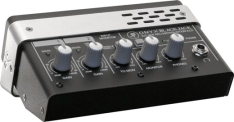 Mackie Onyx Blackjack USB audio interface