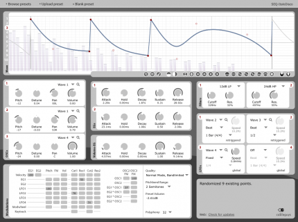 Cableguys Curve synthesizer