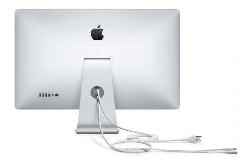 Apple Thunderbolt Display - rear ports