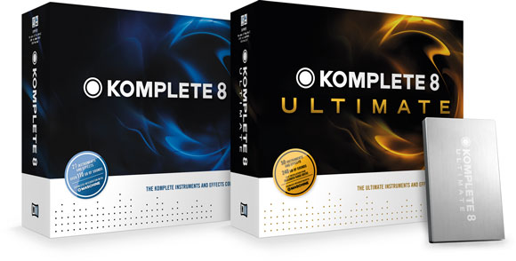 Native Instruments Unveils KOMPLETE 8 and KOMPLETE 8 ULTIMATE