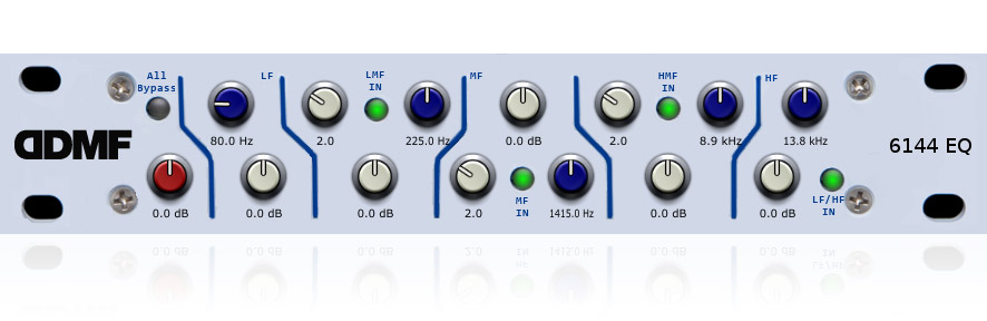 DDMF Devises Neve-Style 6144 EQ Plug-In