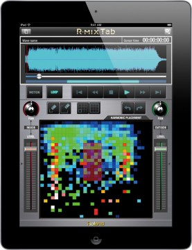 Roland R-MIX Tab for iPad