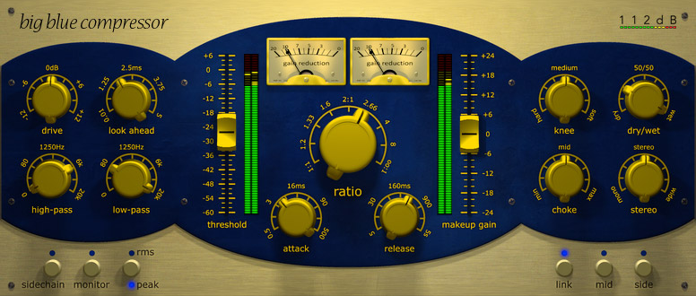 112dB Debuts Big Blue Compressor