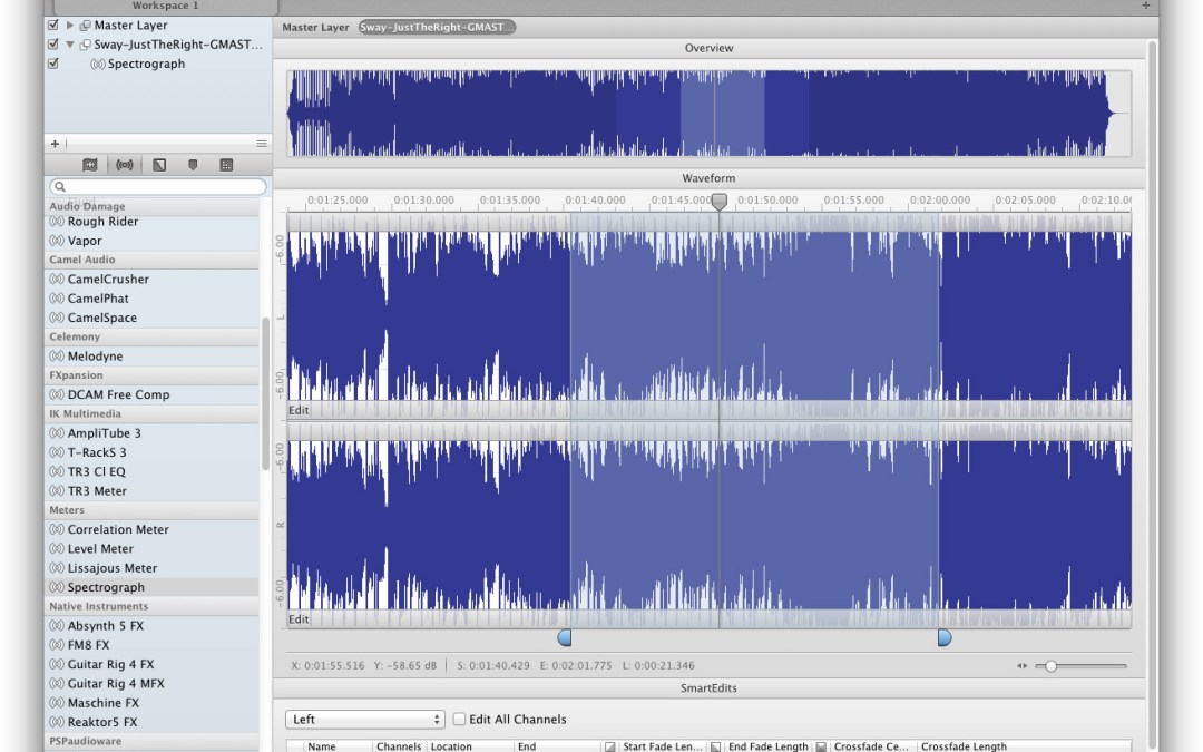 Wave Editor is Audiofile Engineering's Triumph 2.0